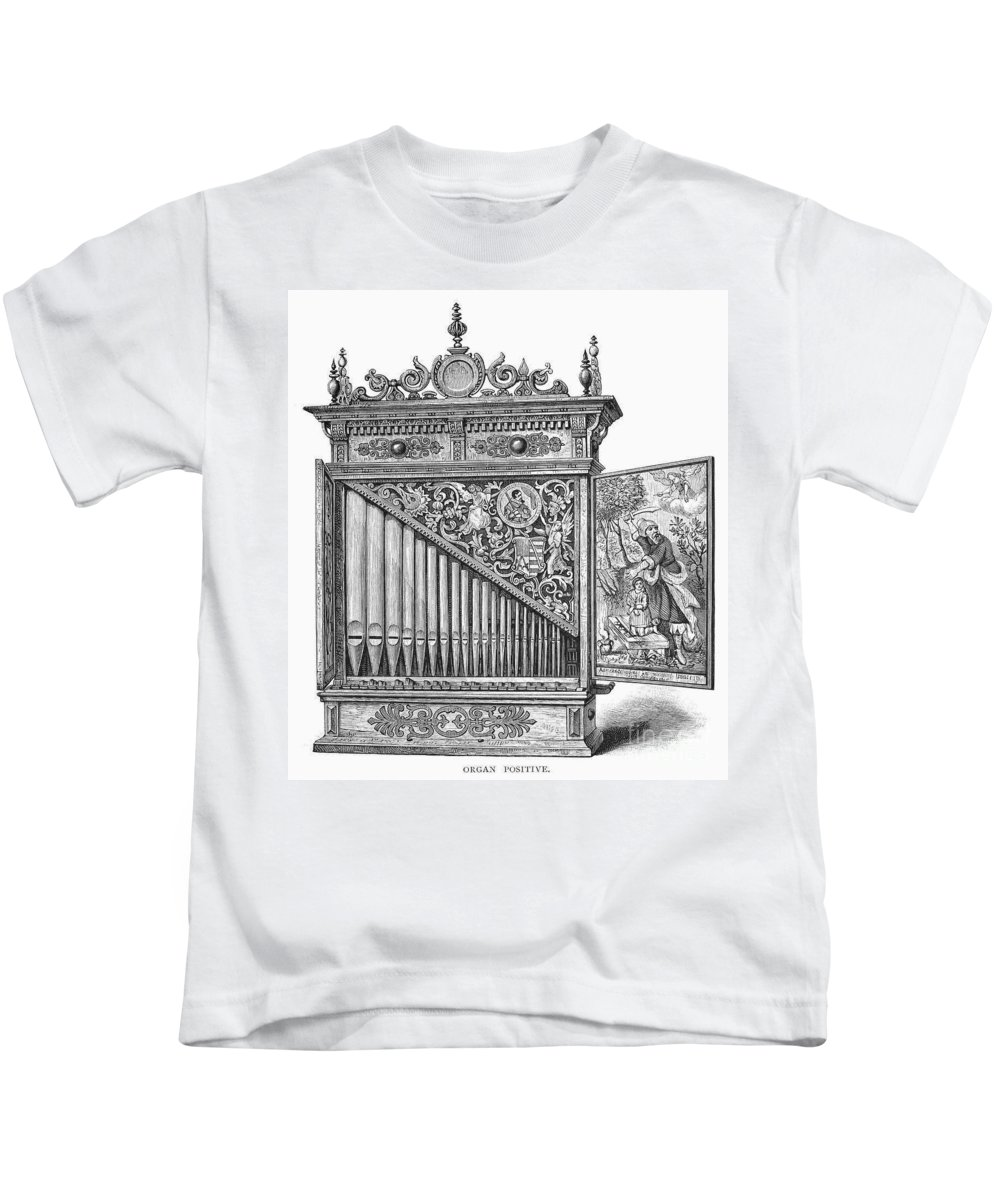 Abraham Kids T-Shirt featuring the photograph Organ Positive by Granger