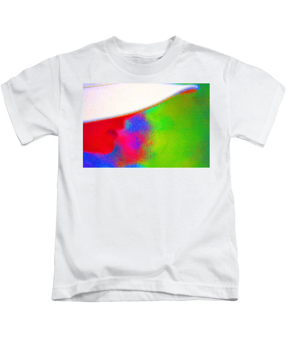 Words Kids T-Shirt featuring the photograph Our Words Have Color And Energy by Marie Jamieson