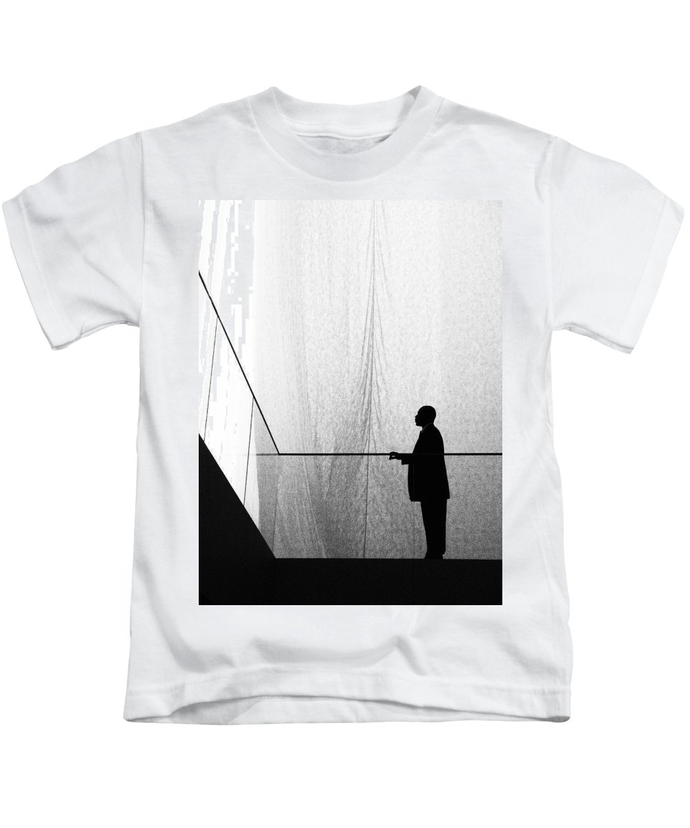 Patient Tension Kids T-Shirt featuring the photograph Patient Tension by Skip Hunt
