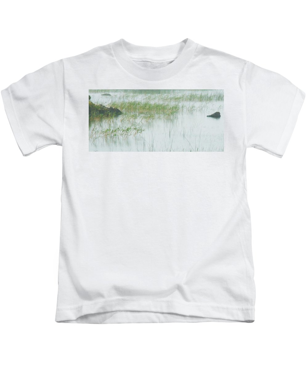 Kids T-Shirt featuring the photograph Peaceful Pond by David Resnikoff