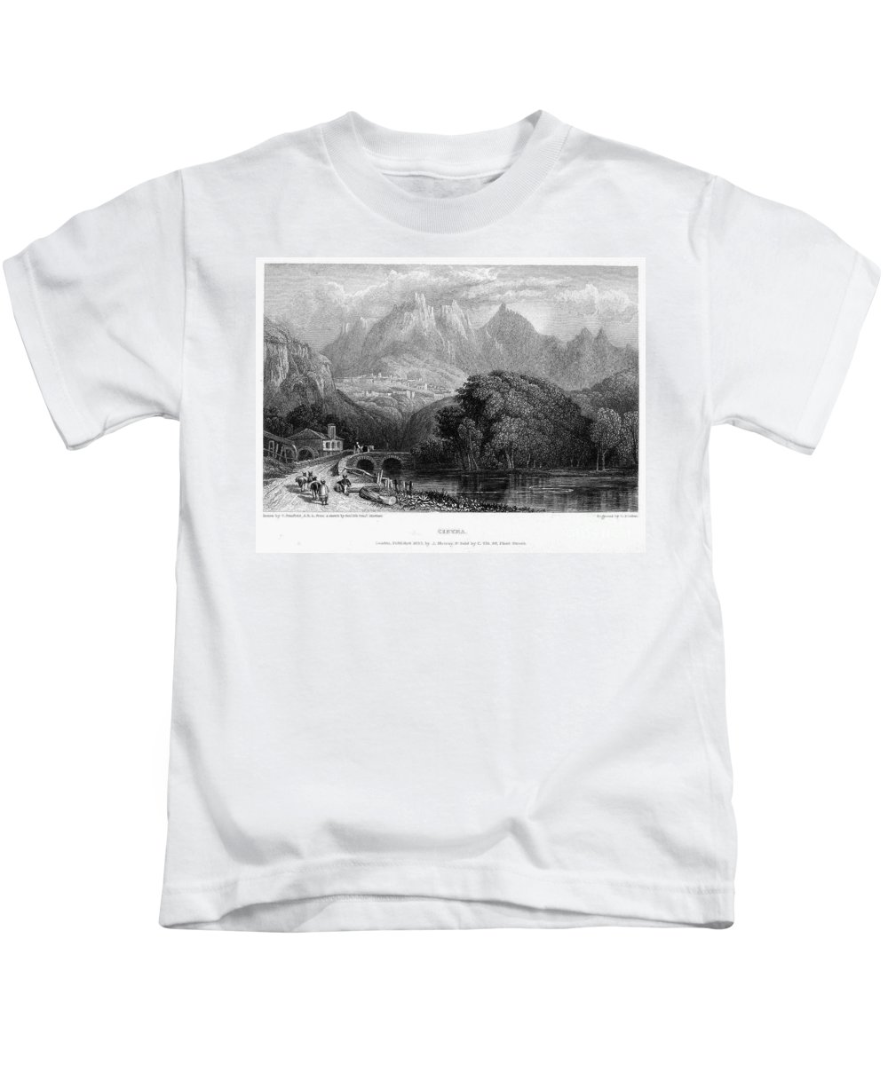 1832 Kids T-Shirt featuring the photograph Portugal: Cintra, 1832 by Granger