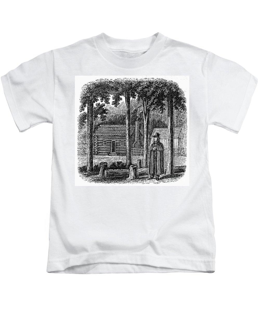 19th Century Kids T-Shirt featuring the photograph Prince Demetrius Augustine Gallitzin (1770-1840) by Granger
