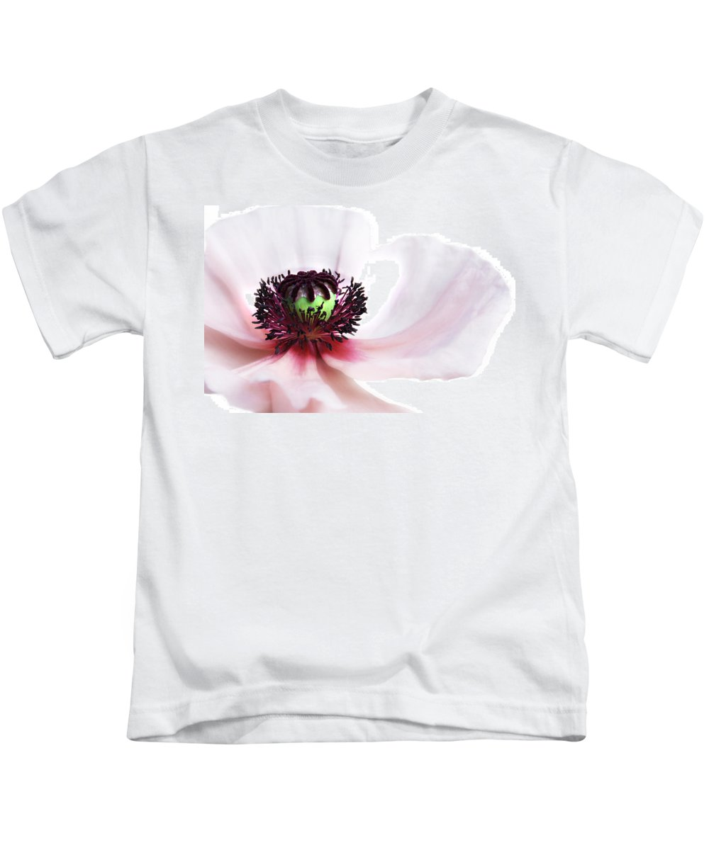 Poppy Kids T-Shirt featuring the photograph Soul Of Poppy by Claudia Moeckel
