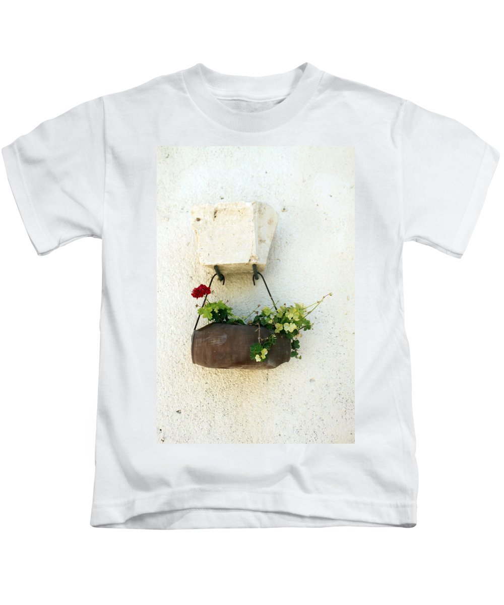 Flower Kids T-Shirt featuring the photograph Waiting For The Meeting by Munir Alawi