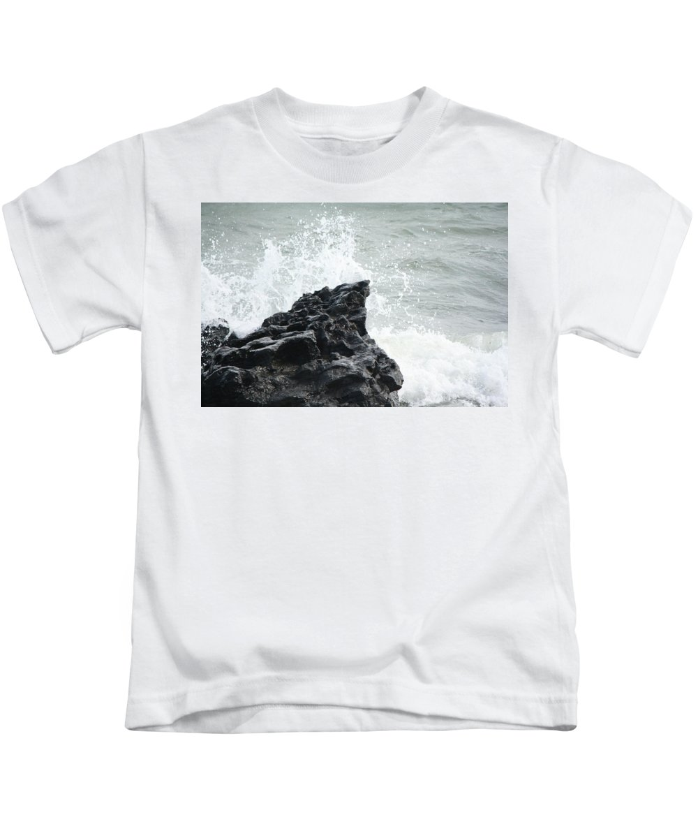 Water Kids T-Shirt featuring the photograph Water 0003 by Carol Ann Thomas