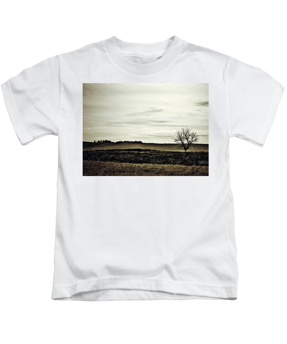 Street Photographer Kids T-Shirt featuring the photograph Where We Meet by The Artist Project