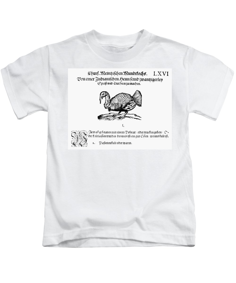 1604 Kids T-Shirt featuring the photograph Wild Turkey, 1604 by Granger