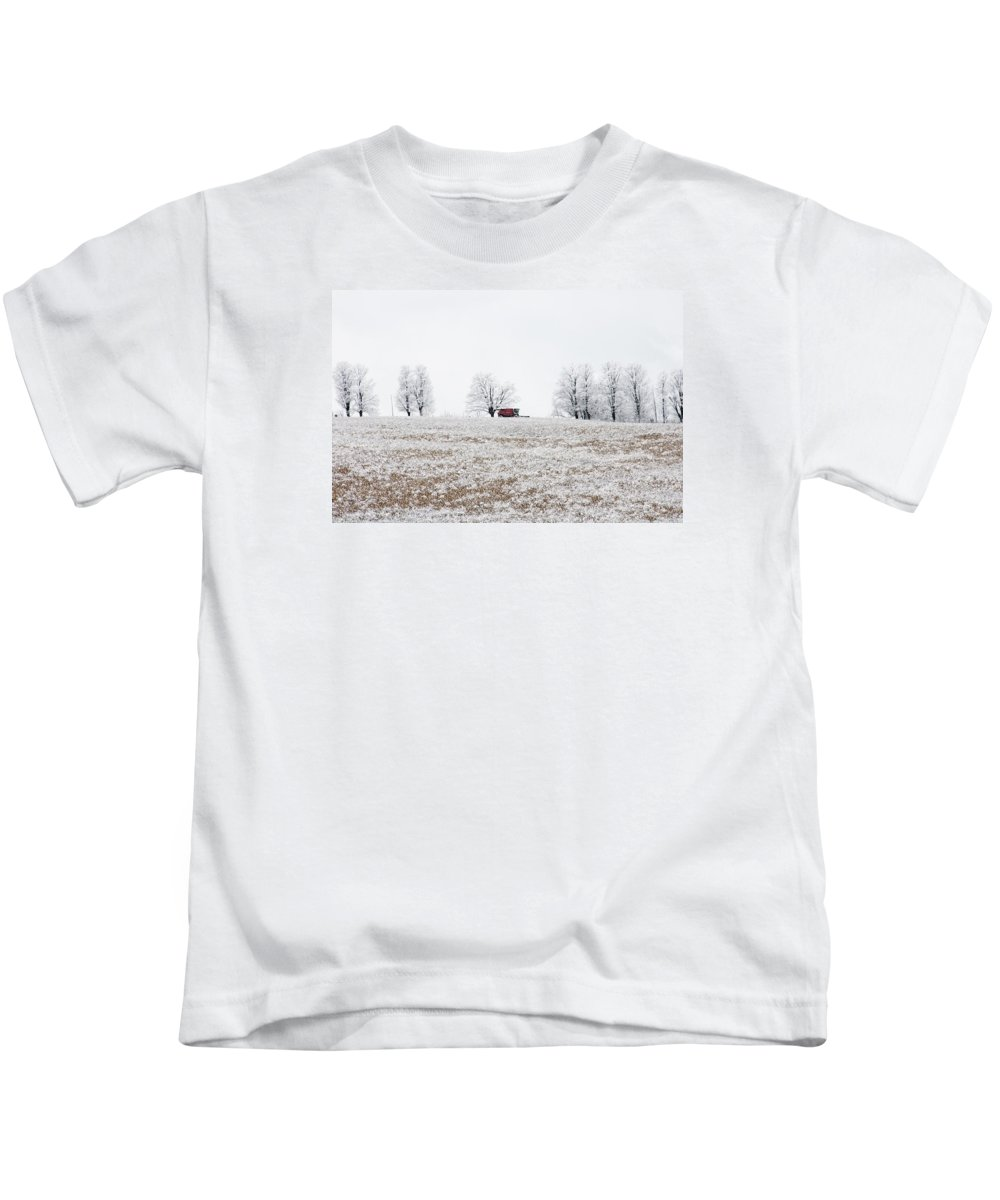 Complete Kids T-Shirt featuring the photograph Work Is Done by Elaine Mikkelstrup