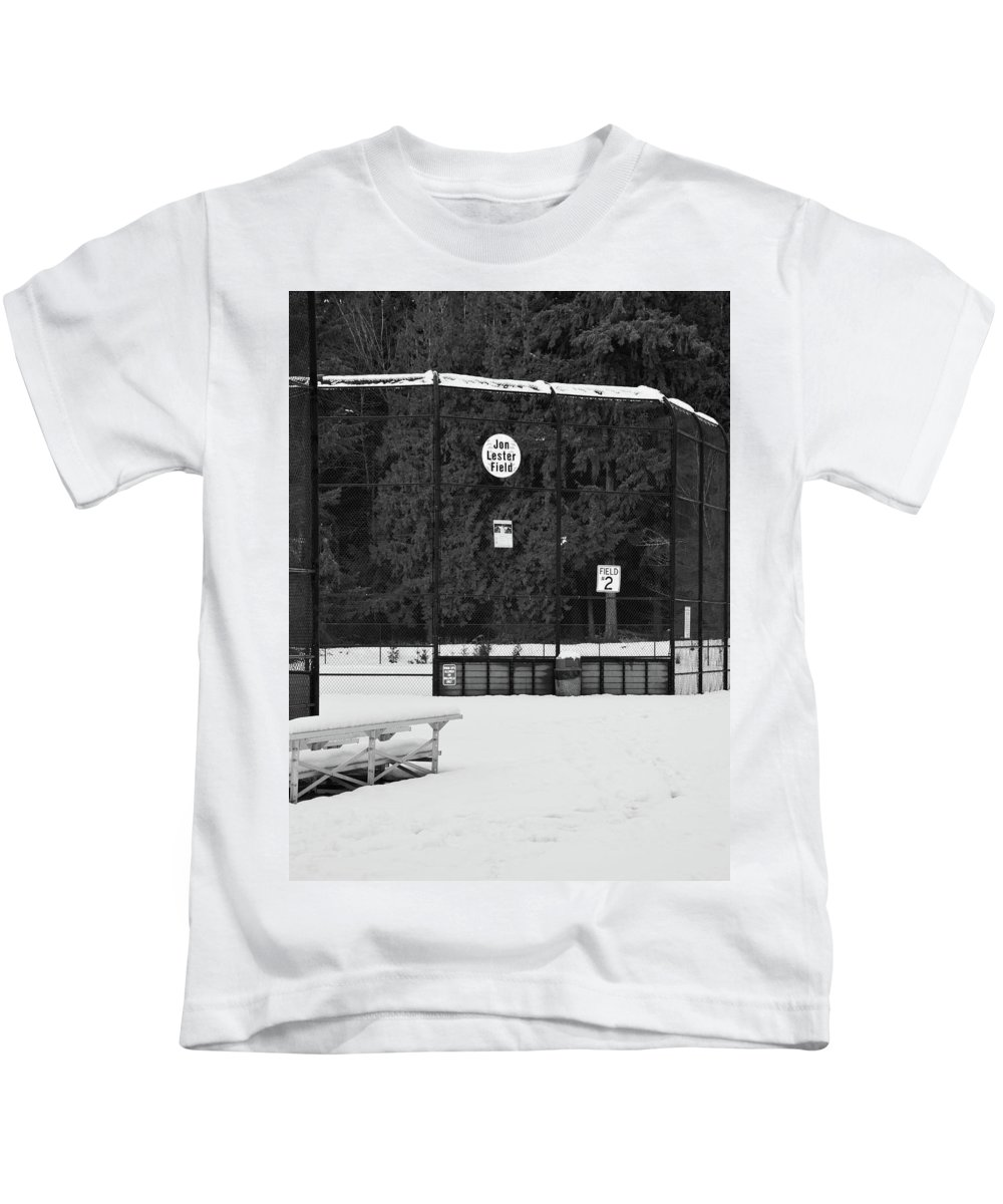 Nature Kids T-Shirt featuring the photograph Snowy Field by Natural Nature Photography