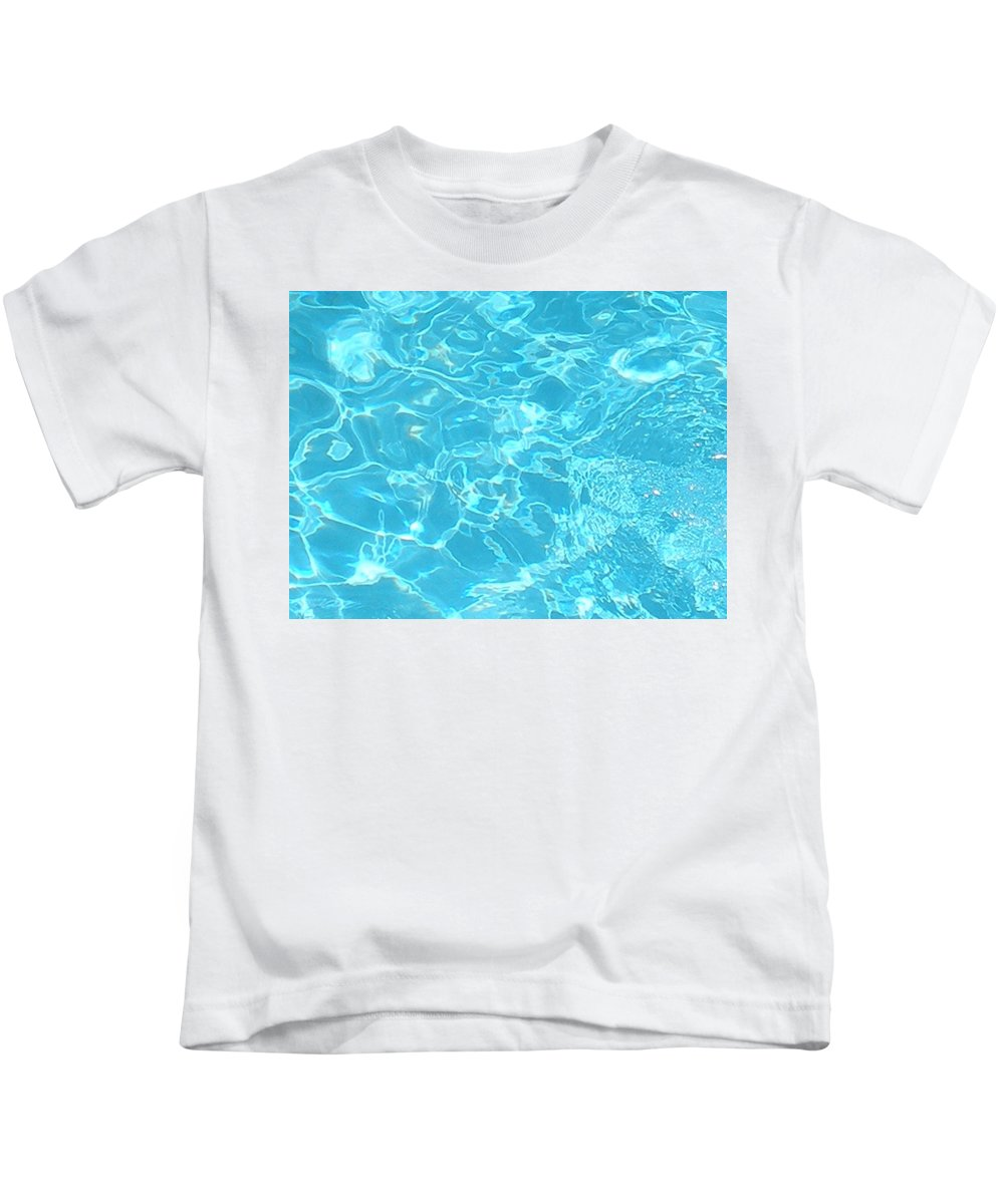 Water Kids T-Shirt featuring the photograph Aquatica by Maria Bonnier-Perez