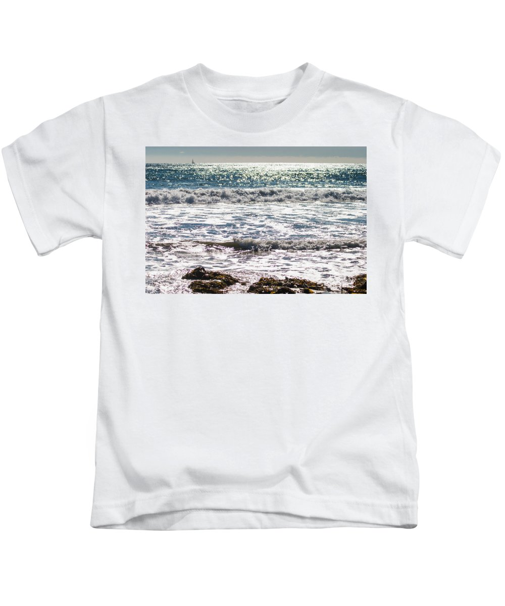 2003 Kids T-Shirt featuring the digital art Days Of Summer by Amer Khwaja