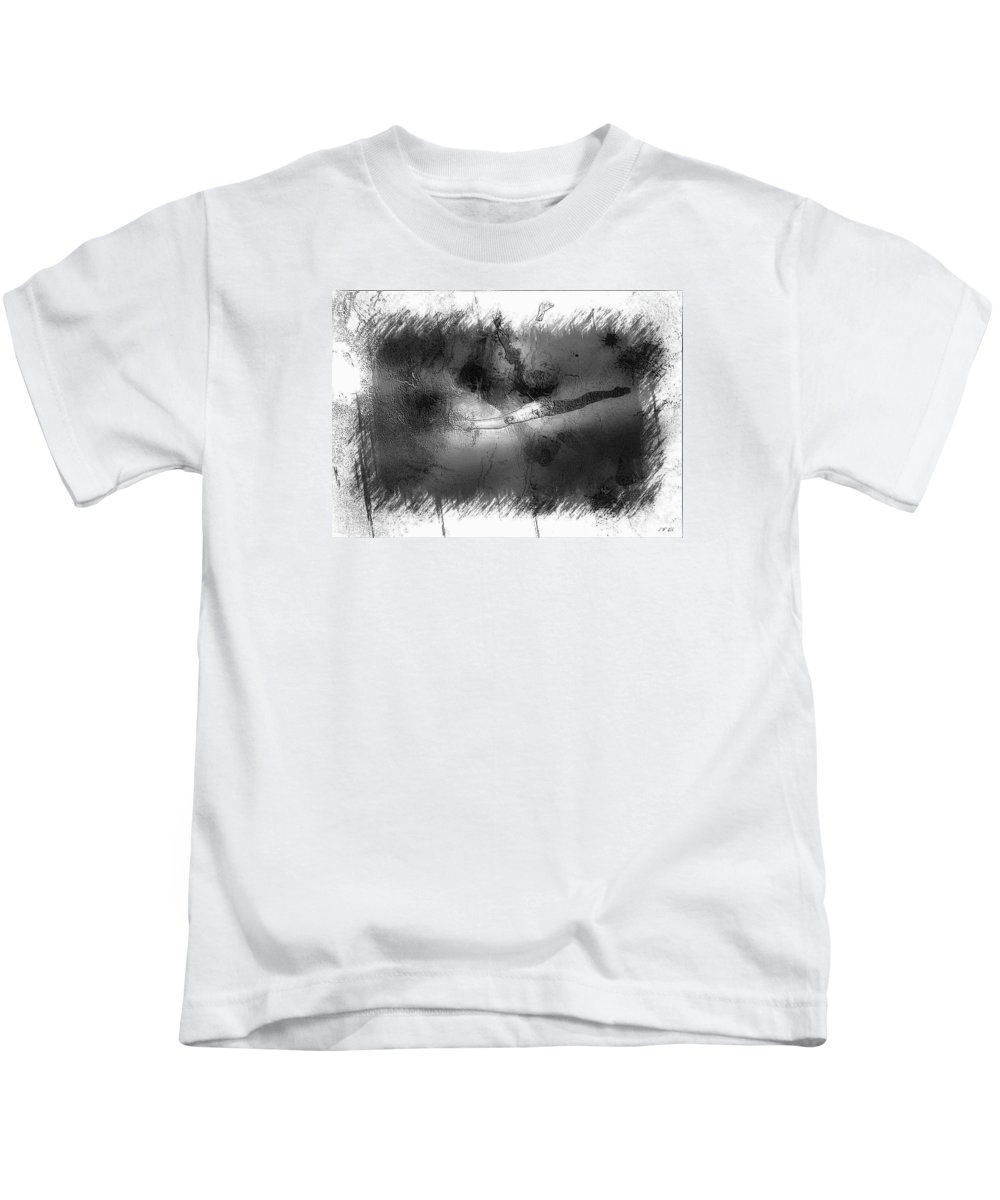 Untitled Kids T-Shirt featuring the photograph Falls by Jean Francois Gil