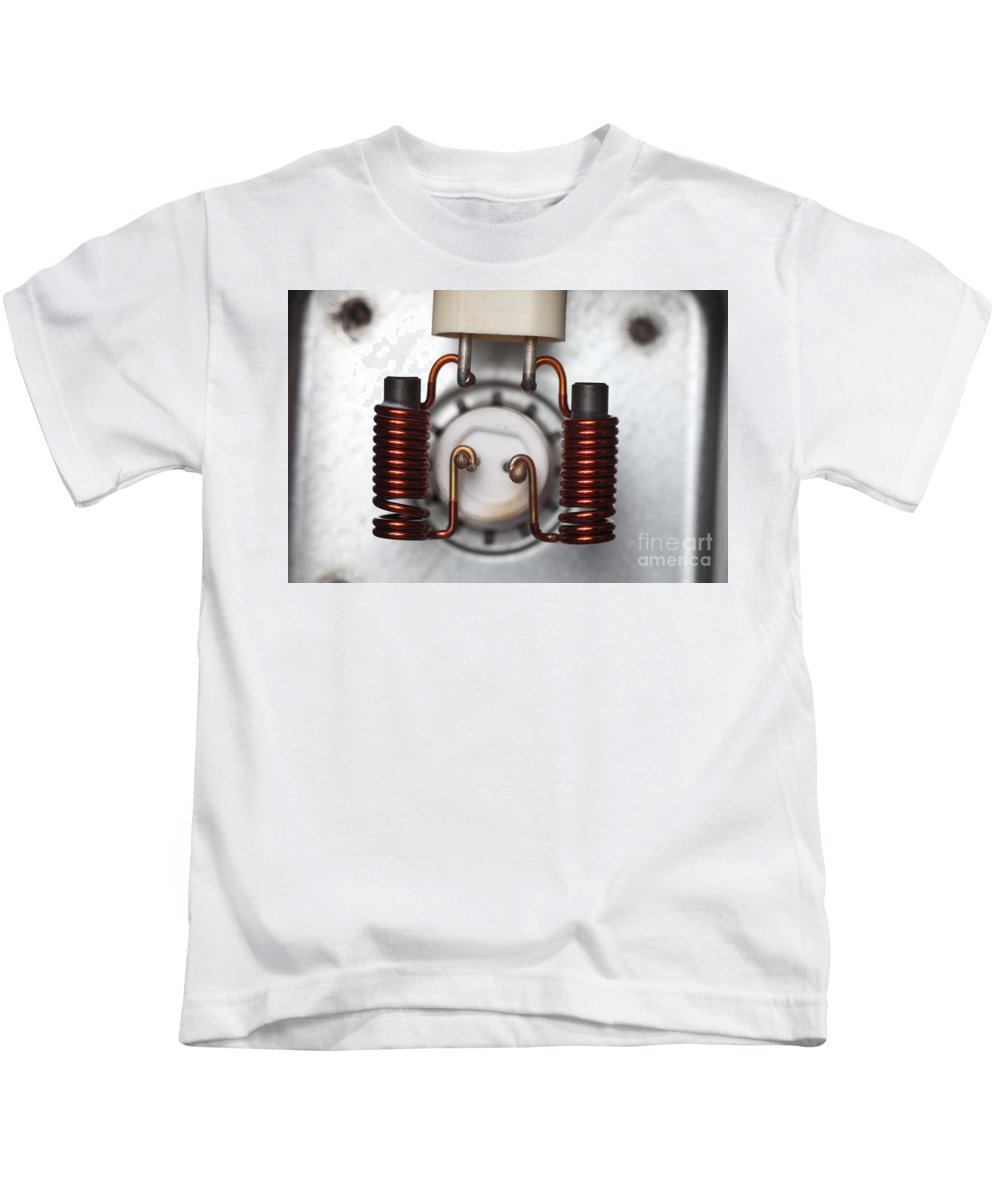 Inductor Kids T-Shirt featuring the photograph Inductors by Ted Kinsman