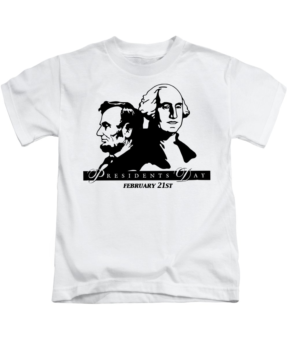 Witchcraft Kids T-Shirt featuring the digital art President's Day by Frederick Holiday