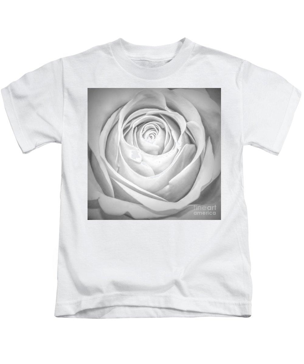 Rose Kids T-Shirt featuring the photograph Soft Petals by Paulette Thomas