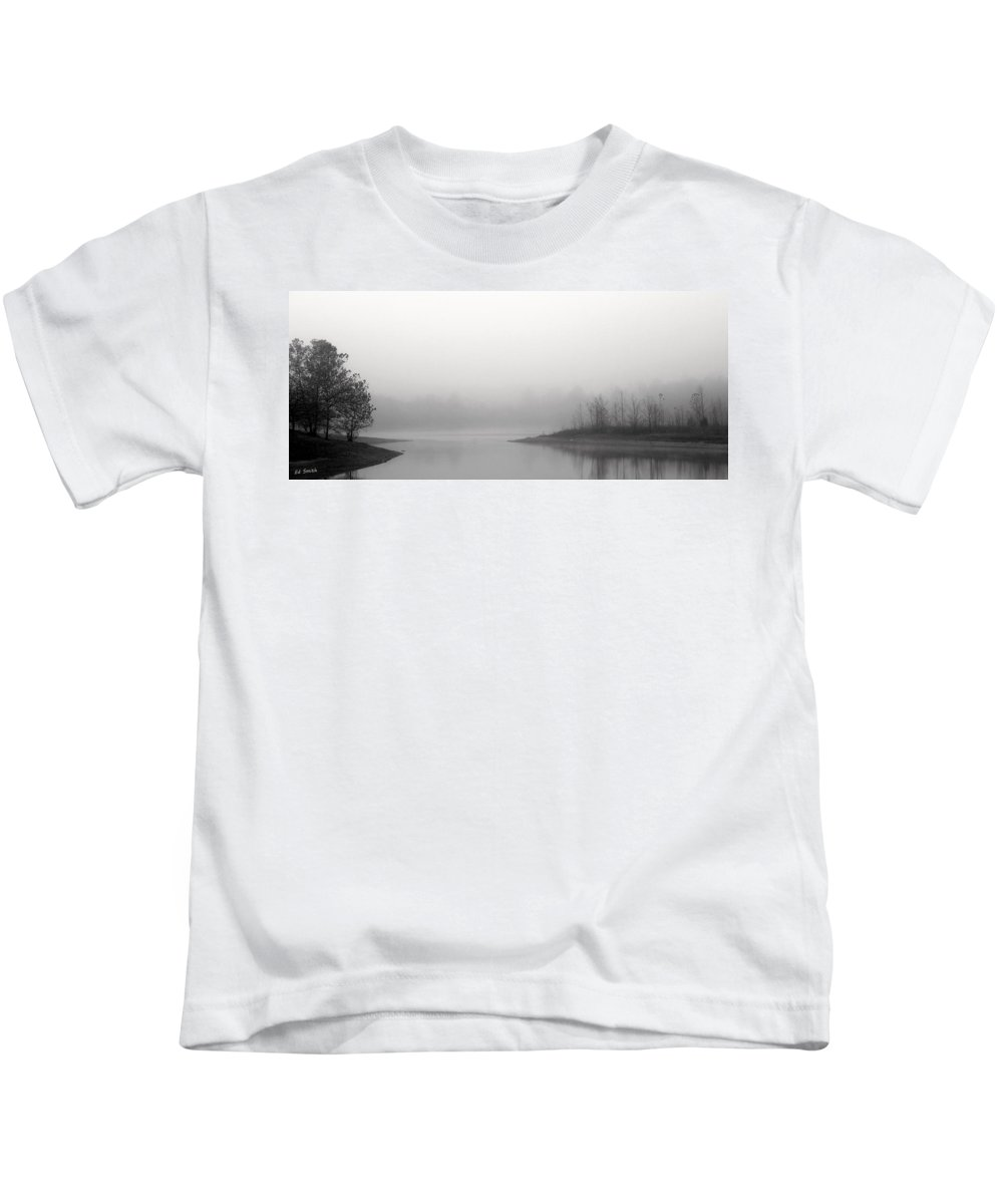 Tuesday Morning Kids T-Shirt featuring the photograph Tuesday Morning by Ed Smith