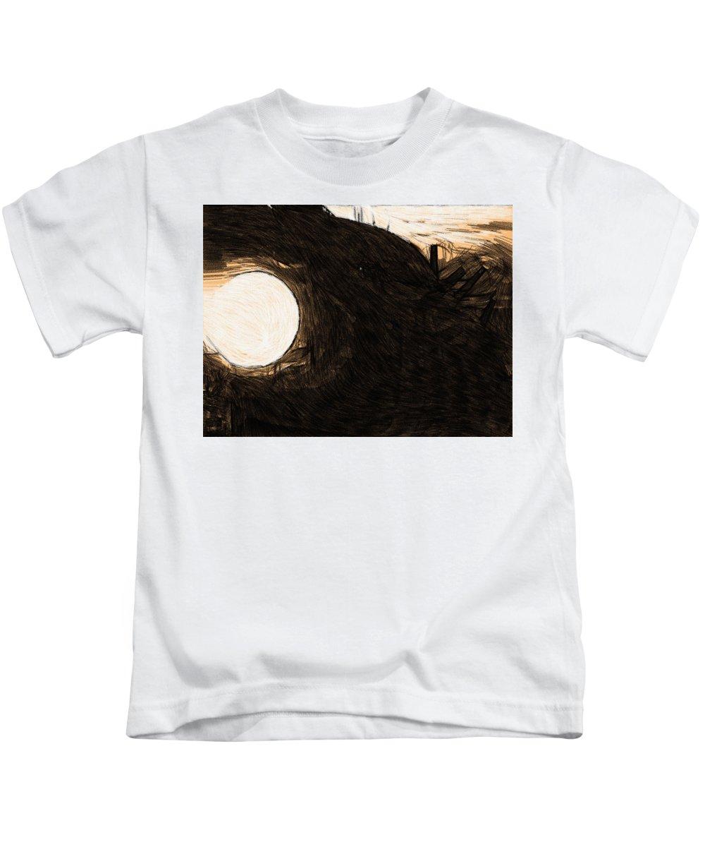 Star Wars Kids T-Shirt featuring the digital art Imperial Star Wars Poster by Larry Jones