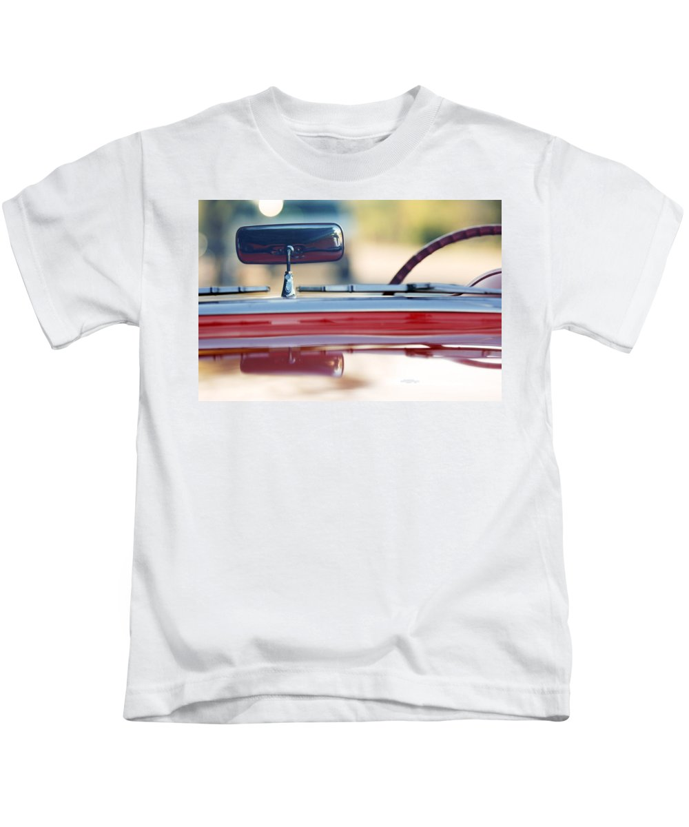 Classic Car Kids T-Shirt featuring the photograph 1957 Chevrolet Corvette Convertible by Jill Reger