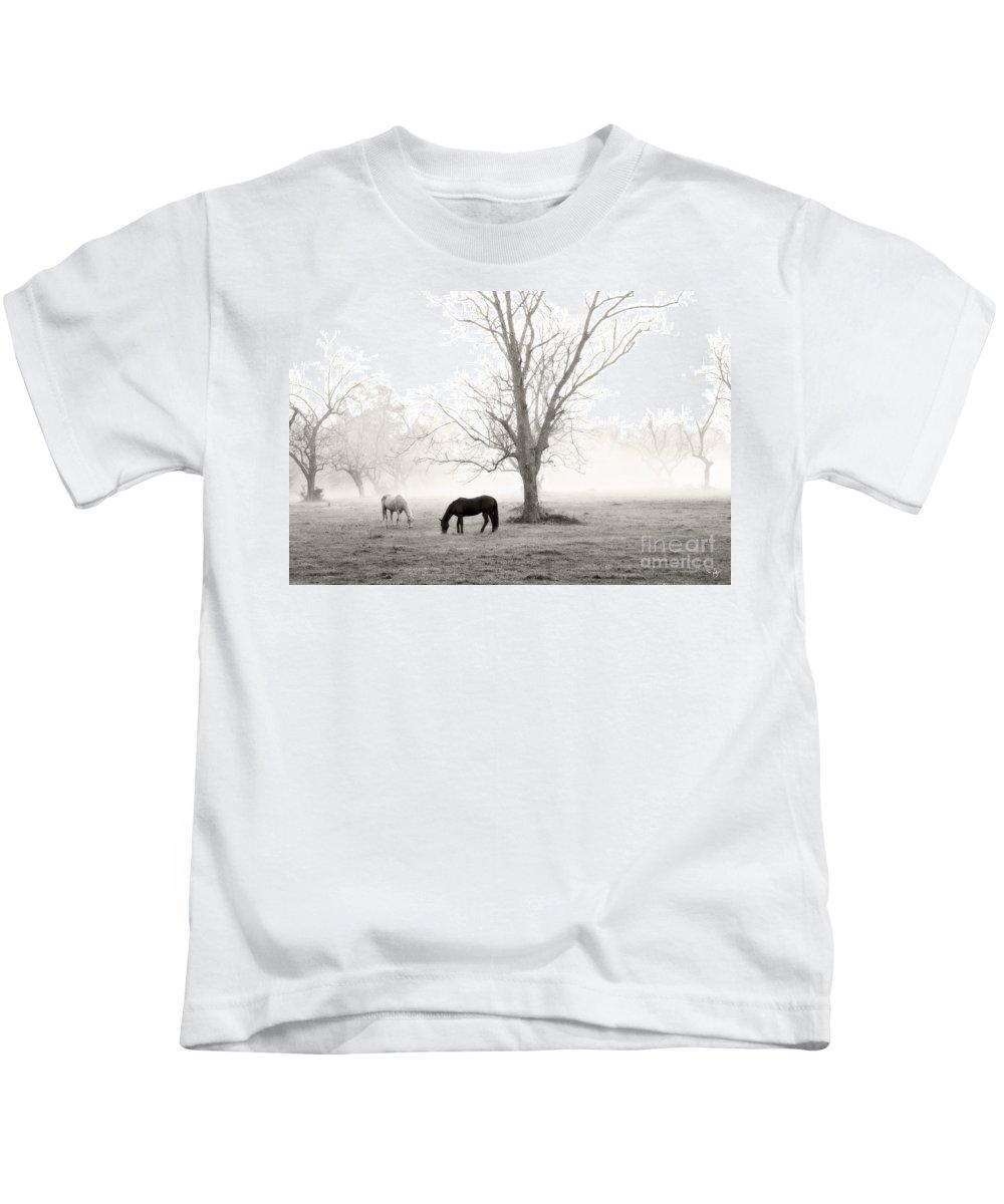 Magical Morning Kids T-Shirt featuring the photograph Magical Morning by Scott Pellegrin