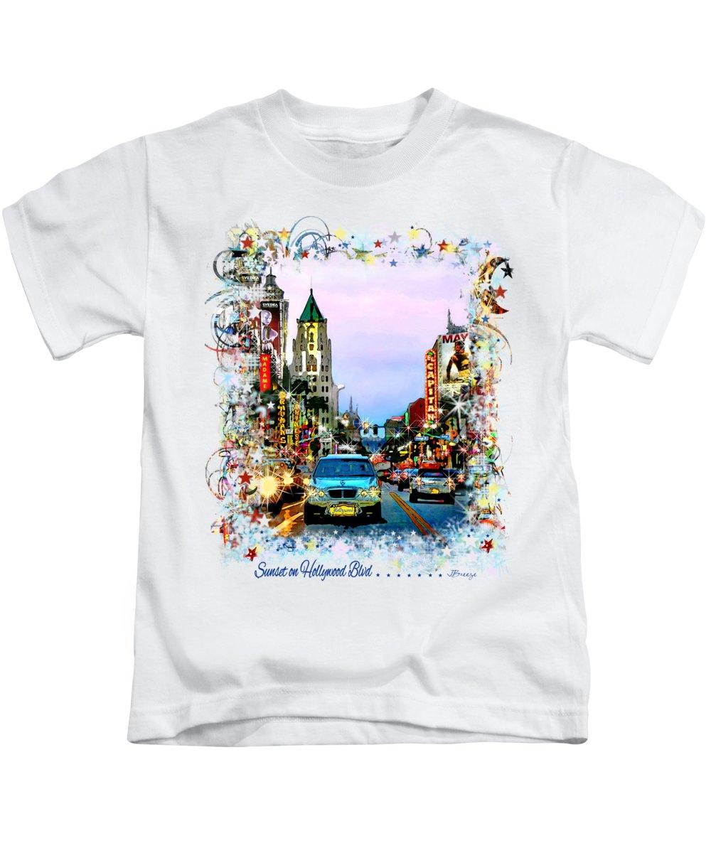 Traffic Signals Photographs Kids T-Shirts