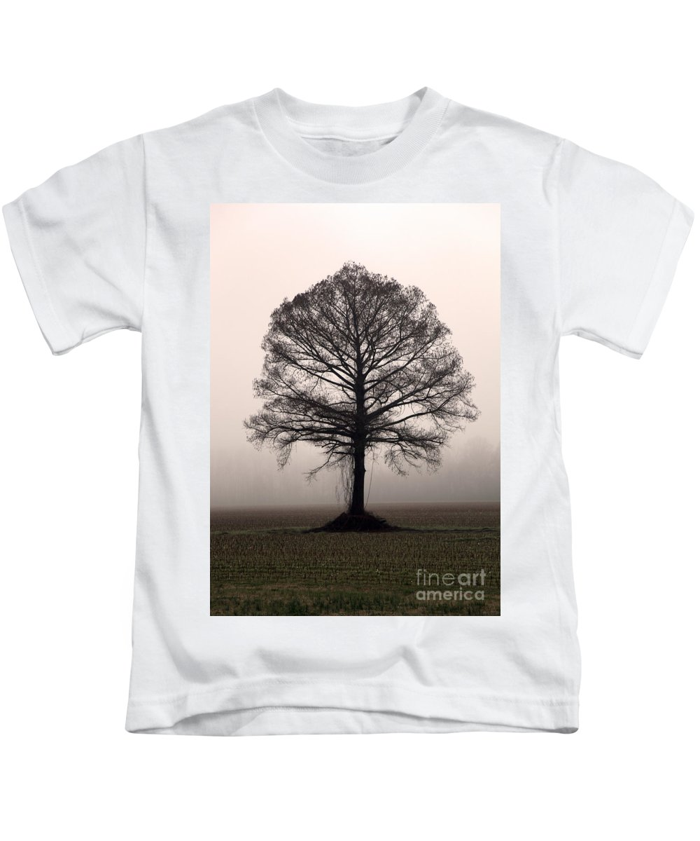 Trees Kids T-Shirt featuring the photograph The Tree by Amanda Barcon