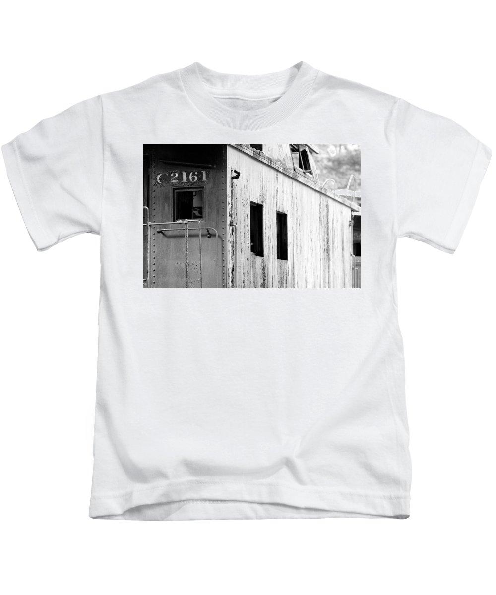 Train Kids T-Shirt featuring the photograph Train by Sebastian Musial