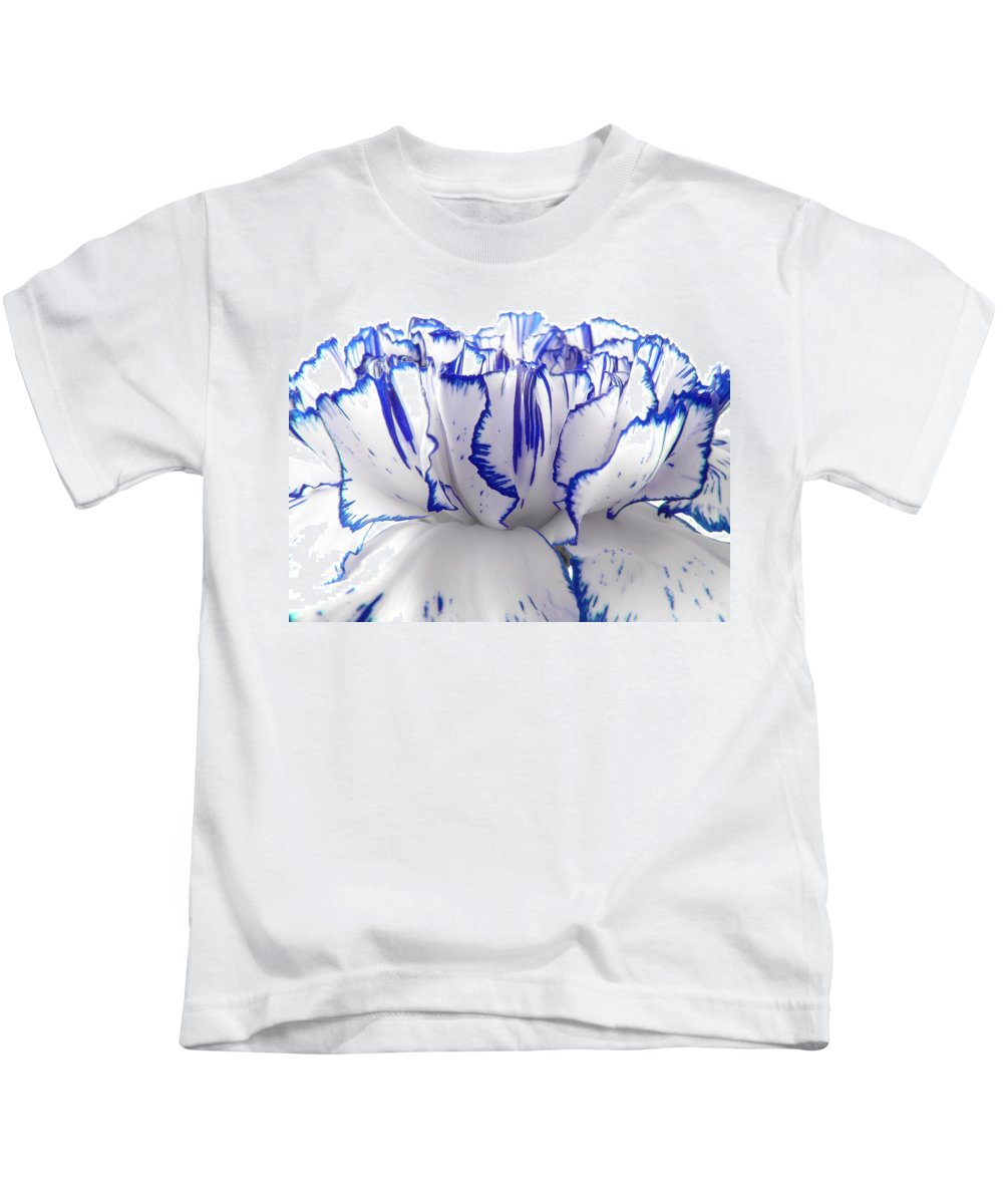 Carnation Kids T-Shirt featuring the photograph Carnation by Daniel Csoka
