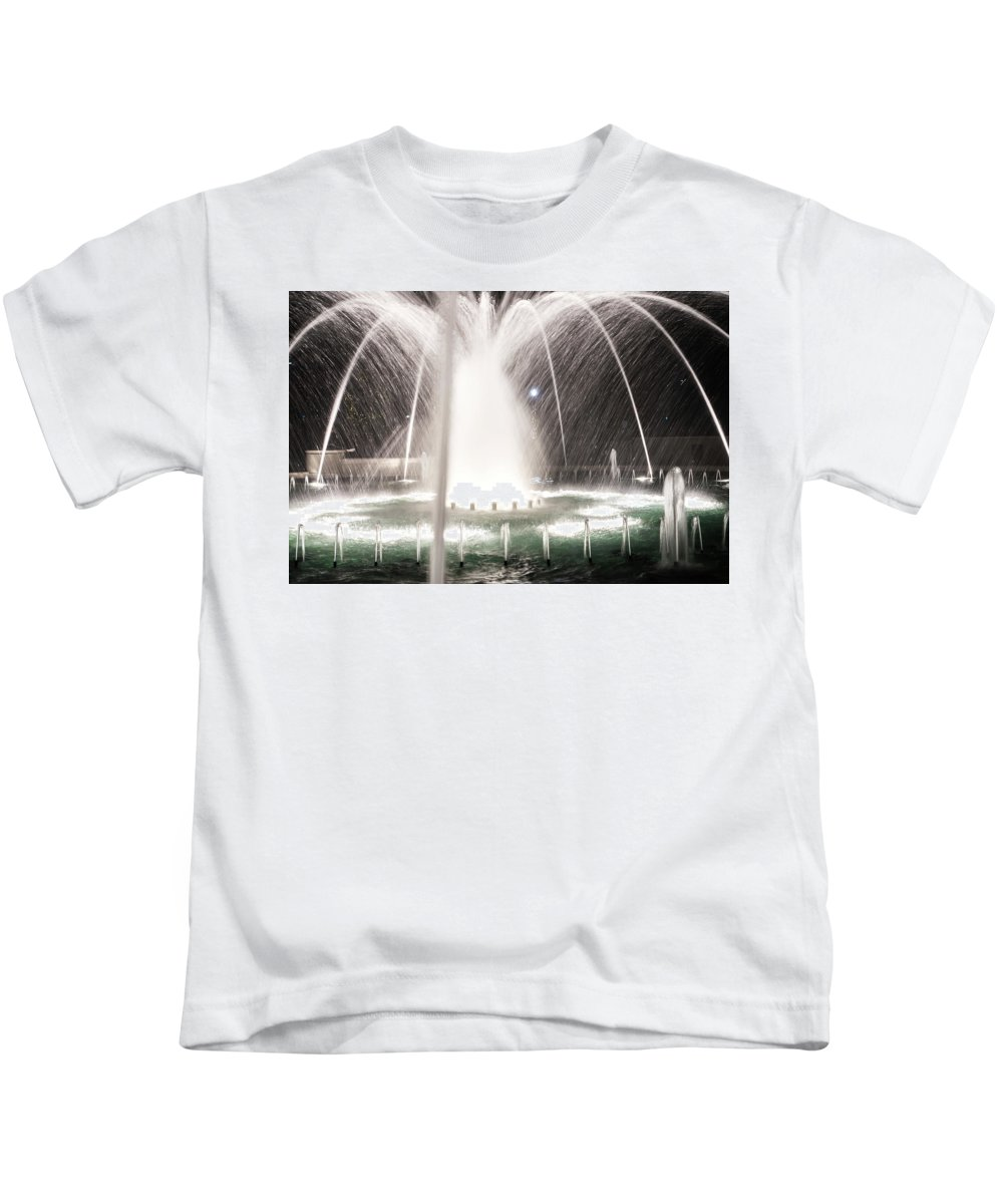 Christmas Kids T-Shirt featuring the photograph Christmas Time Season In Rock Hill South Carolina by Alex Grichenko