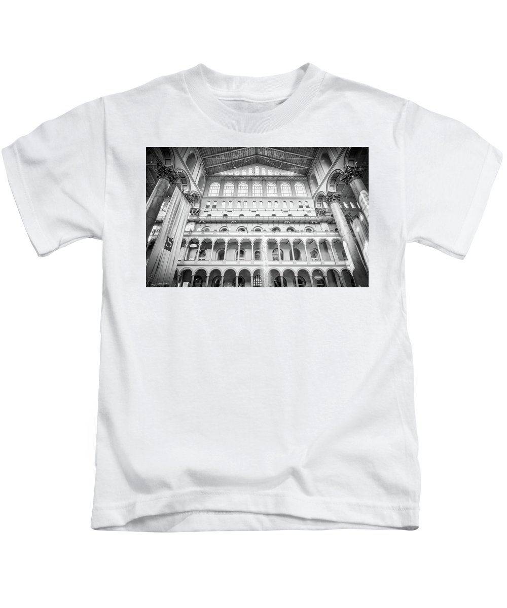 Building Kids T-Shirt featuring the photograph Smithsonian National Building Mus by Alex Grichenko