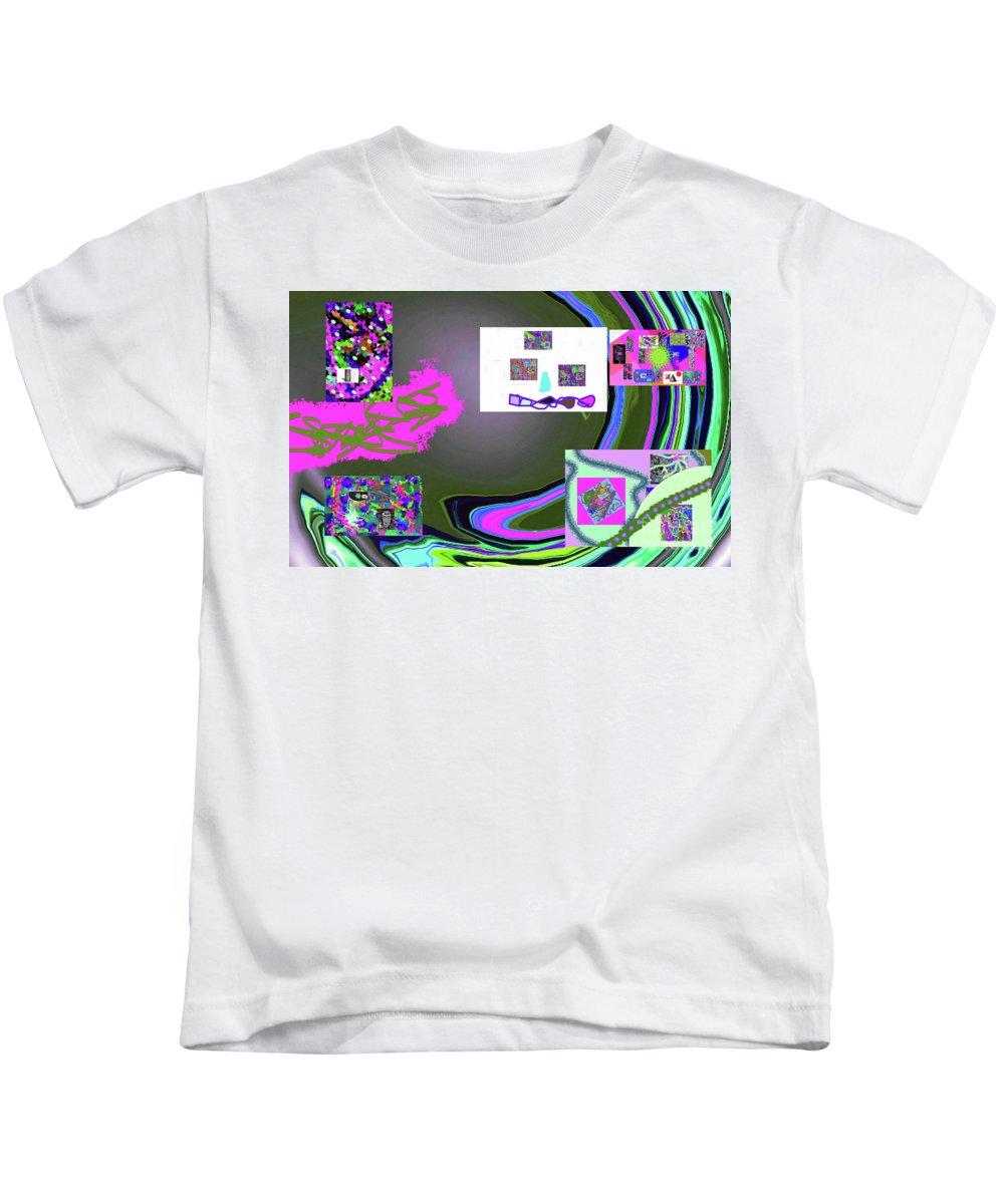 Walter Paul Bebirian Kids T-Shirt featuring the digital art 6-3-2015babc by Walter Paul Bebirian