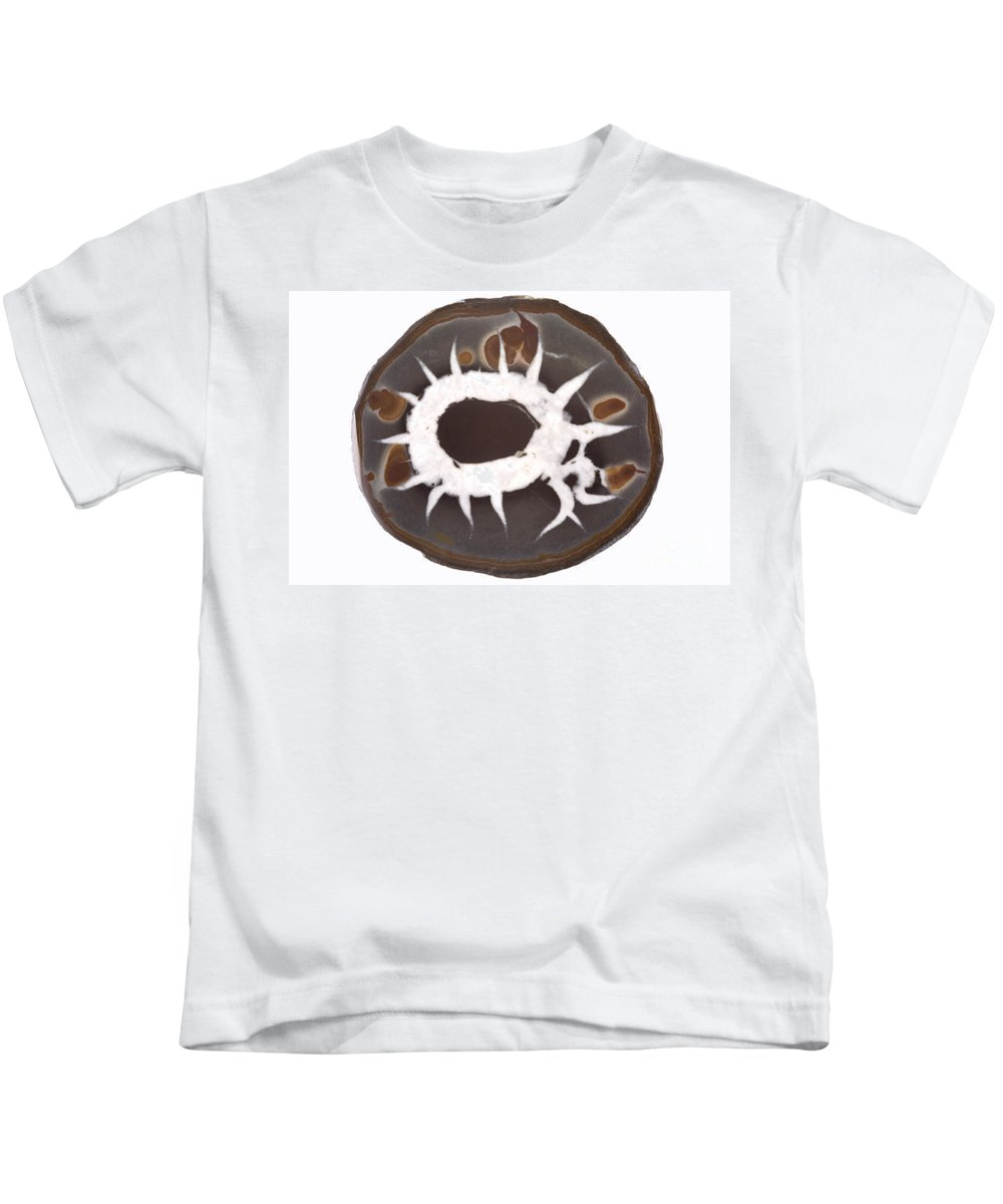Rock Kids T-Shirt featuring the photograph Septarian Nodule by Ted Kinsman
