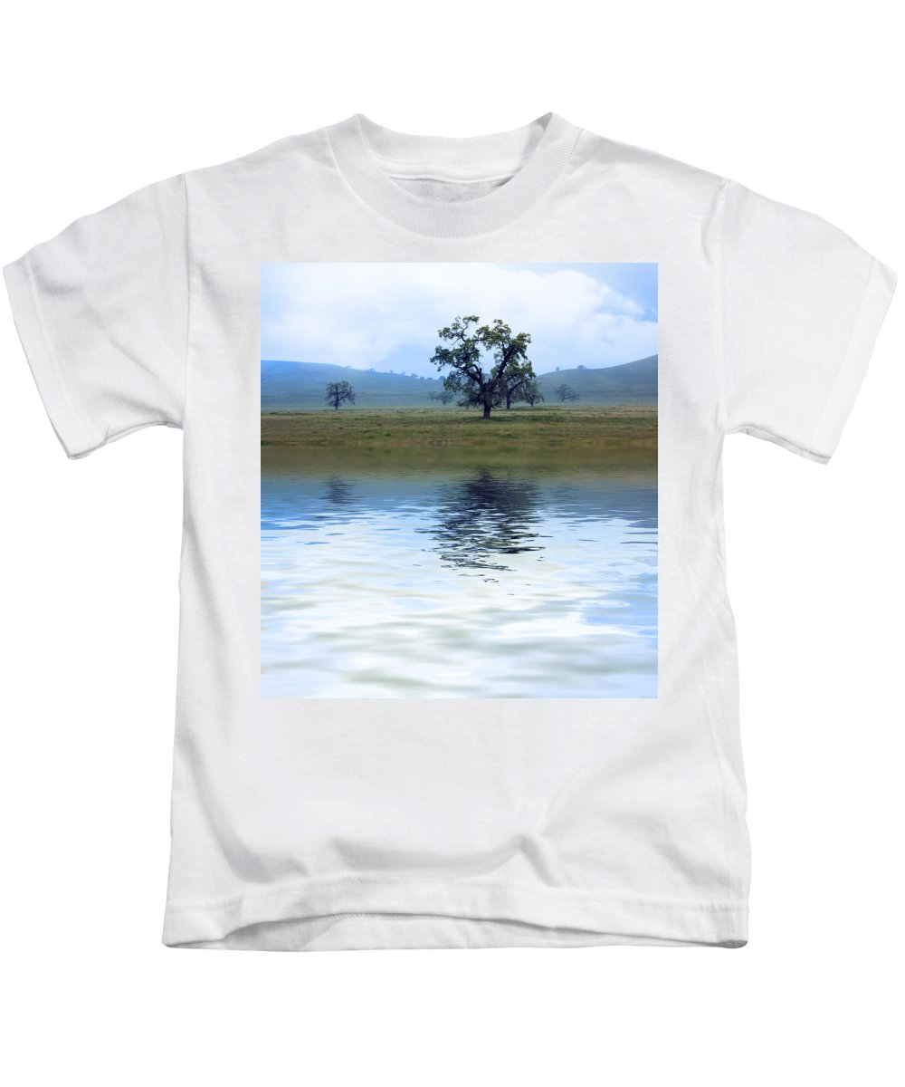 Tree Kids T-Shirt featuring the photograph A Trees Reflection by Gravityx9  Designs