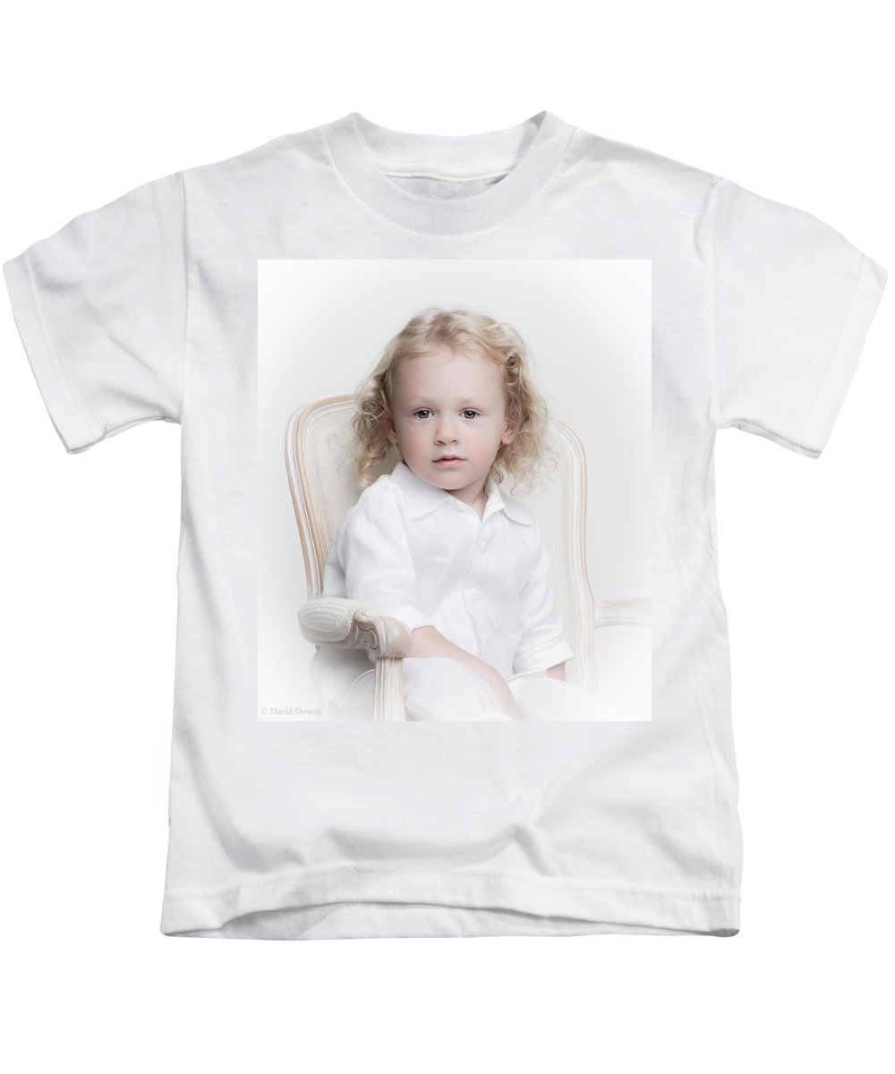 Kids T-Shirt featuring the photograph AB3 by David Downs