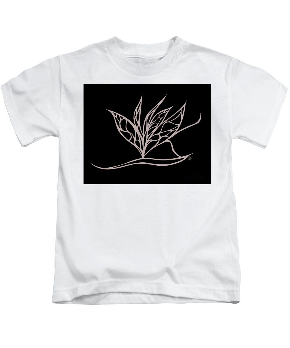 Kids T-Shirt featuring the digital art Absent Fairy by Jamie Lynn