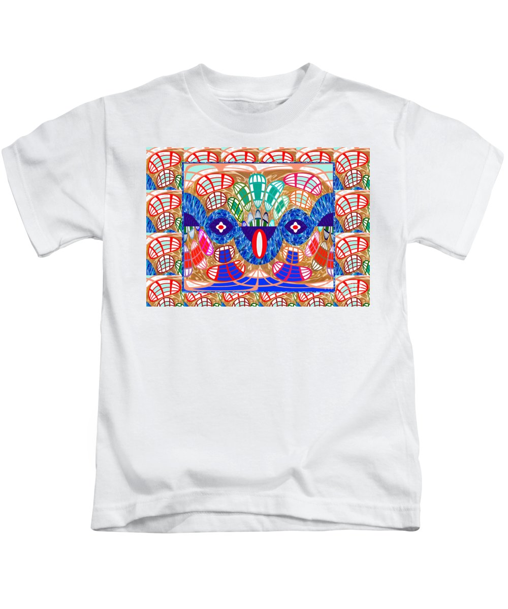Graphic Kids T-Shirt featuring the digital art Abstract Art Snake Hidden In Graphics Art By Navinjoshi At Fineartamerica.com Elegant Interior Decor by Navin Joshi