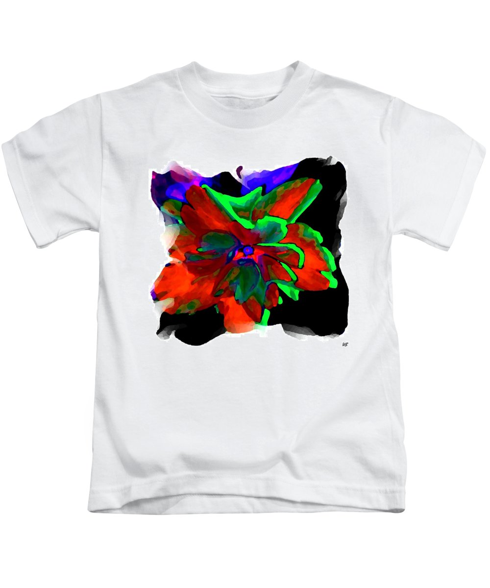 Abstract Kids T-Shirt featuring the digital art Abstract Elegance by Will Borden