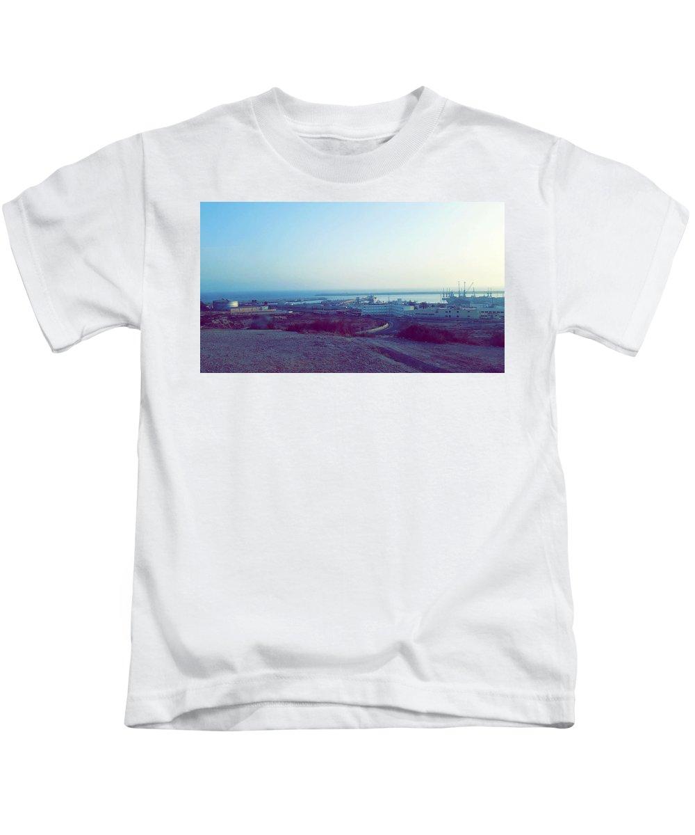 Nature Kids T-Shirt featuring the photograph Agadir Nature by Hassan Boumhi