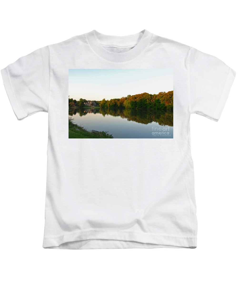 Landscape Kids T-Shirt featuring the photograph An Excellent Vantage Point by Todd A Blanchard