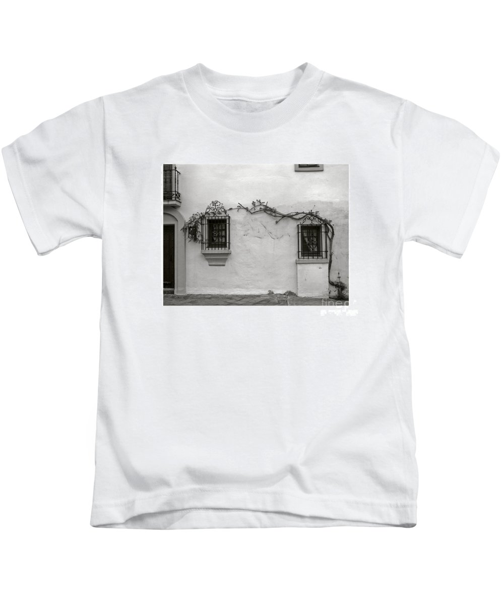 Andalucia Kids T-Shirt featuring the photograph Andalucia Wall by Thomas Marchessault