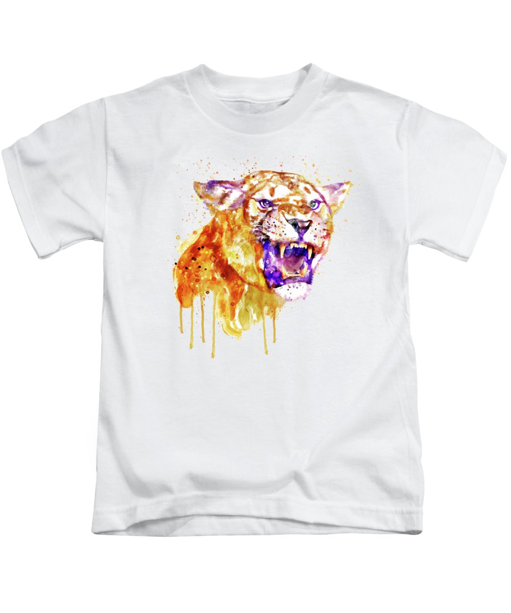 Angry Cat Kids T-Shirts