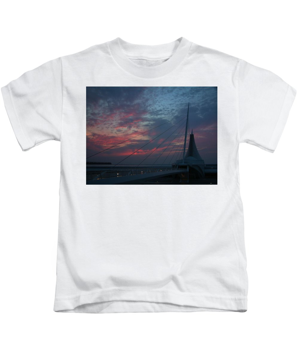 Sunrise Kids T-Shirt featuring the photograph Another Sunrise At The Mam by Thomas Pipia