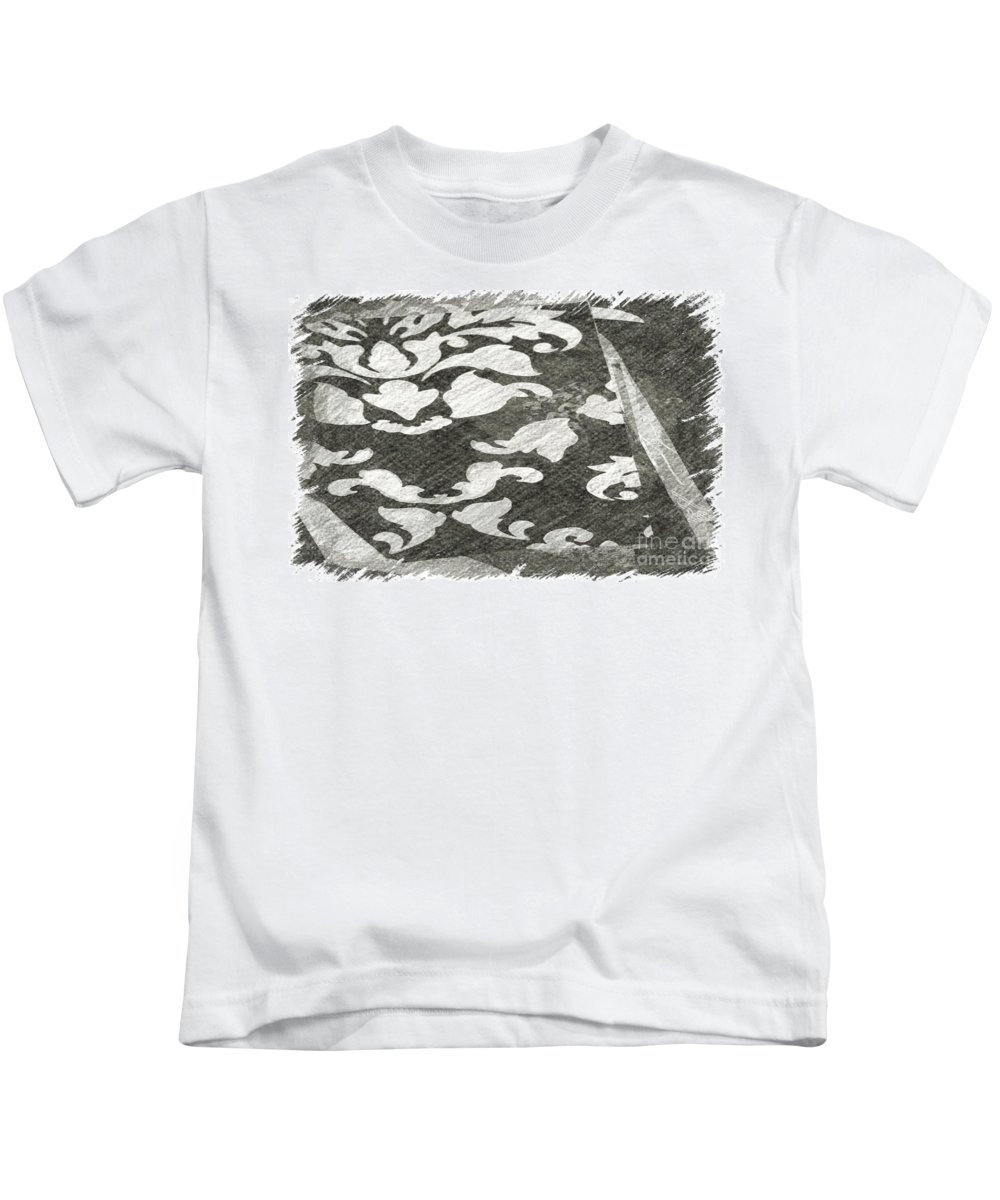 Abstract Kids T-Shirt featuring the photograph B And W by Alwyn Glasgow