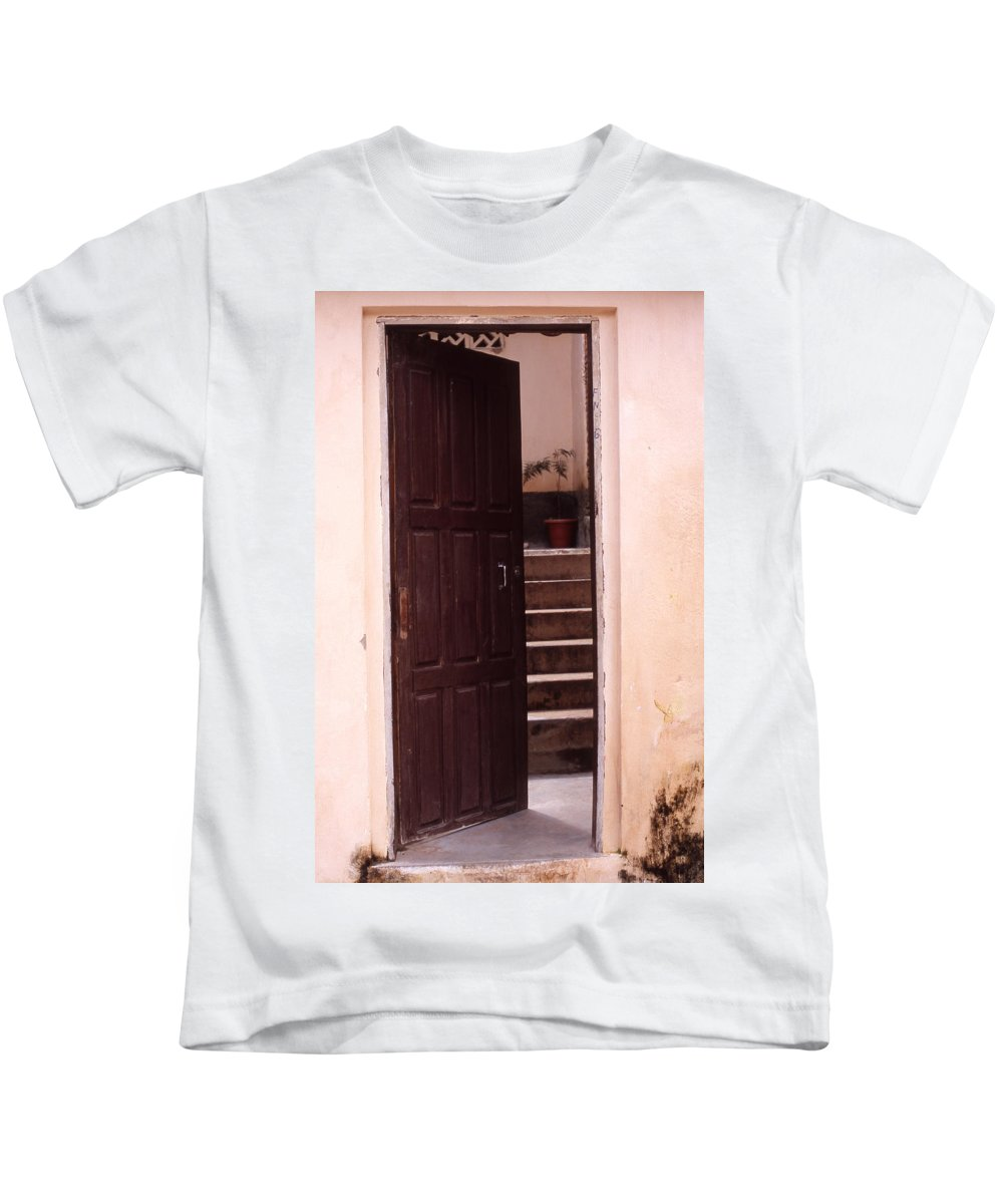 Bahia Kids T-Shirt featuring the photograph Bahian Opening by Patrick Klauss
