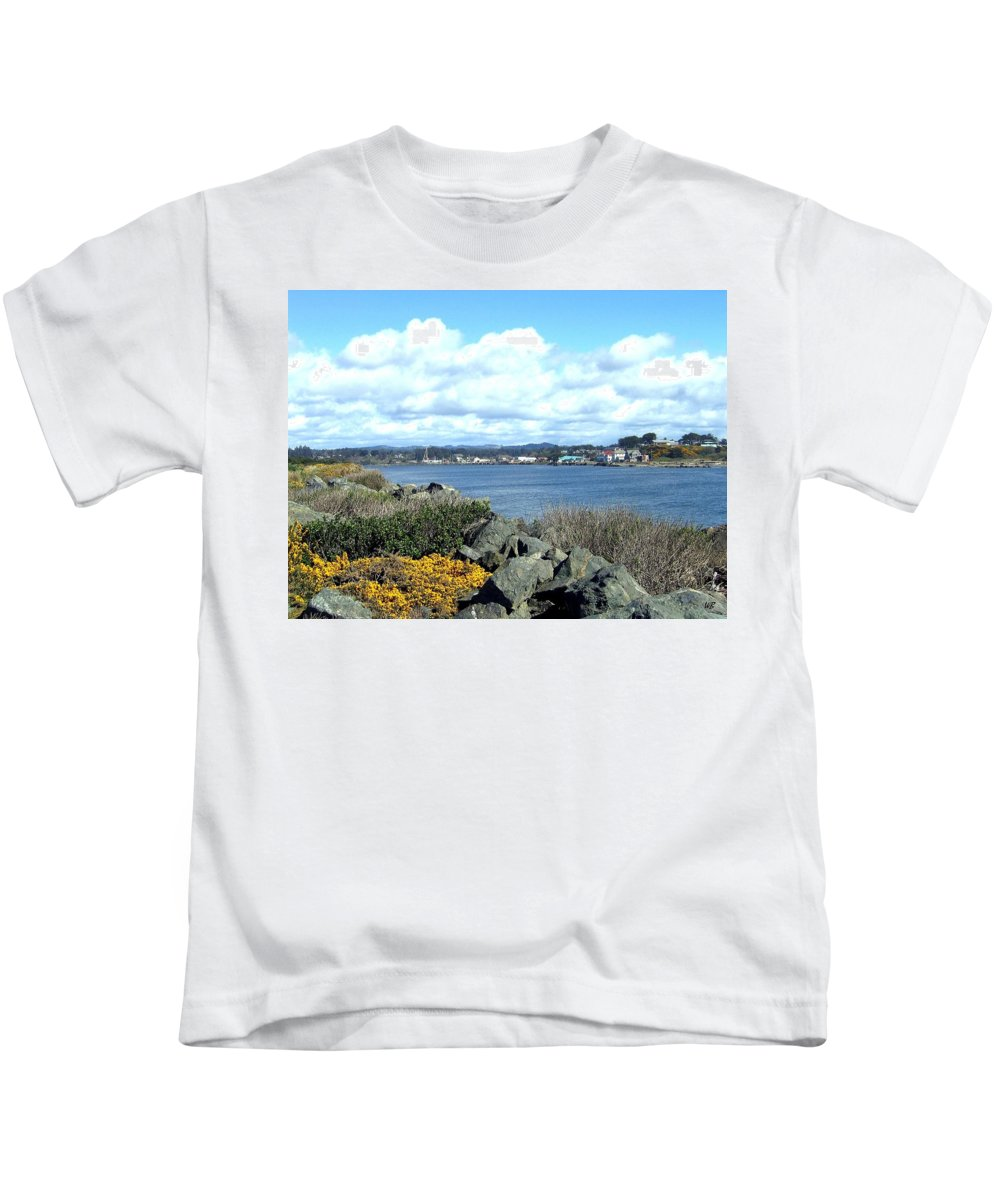 Bandon Kids T-Shirt featuring the photograph Bandon 2 by Will Borden