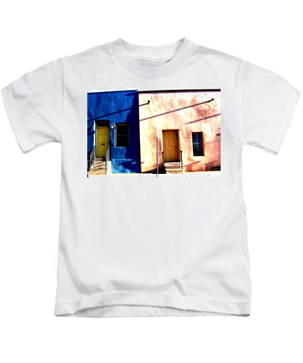 Tucson Kids T-Shirt featuring the photograph Barrio Viejo 1 by Michelle Dallocchio