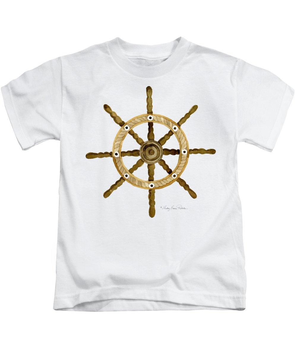 Sails Paintings Kids T-Shirts