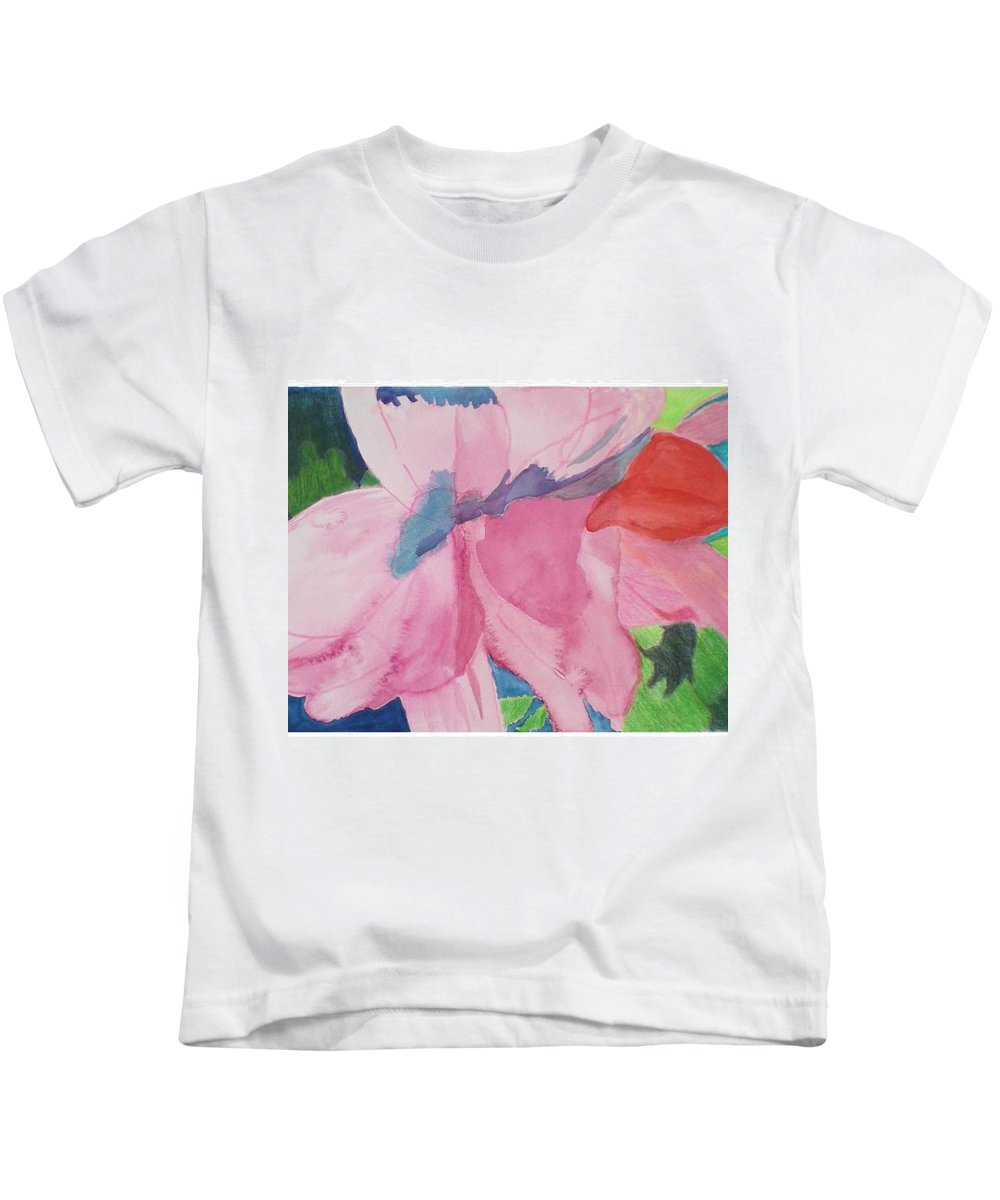 Flower Kids T-Shirt featuring the painting Beautiful Azalea by Hal Newhouser