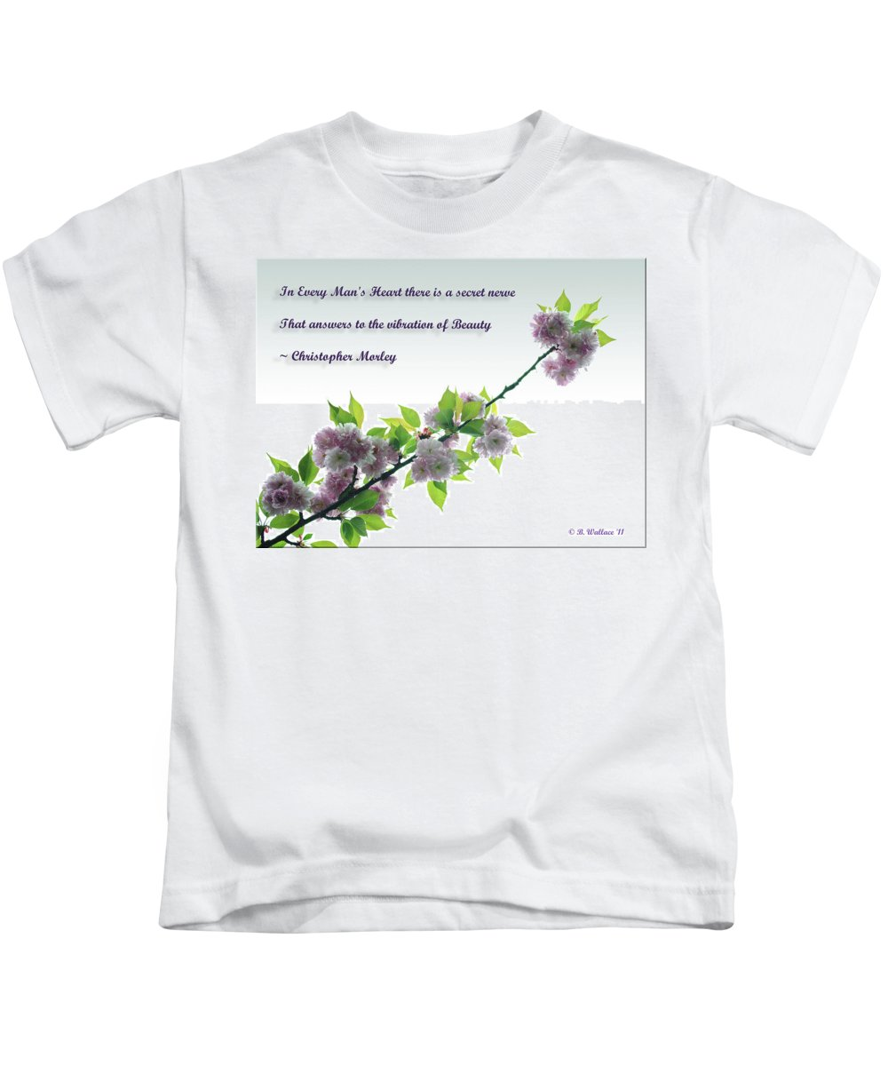 2d Kids T-Shirt featuring the photograph Beauty by Brian Wallace