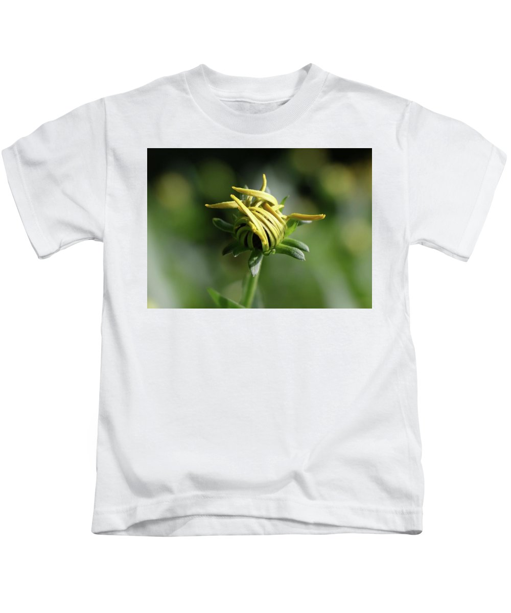 Flower Kids T-Shirt featuring the photograph Beginnings by Shelly John