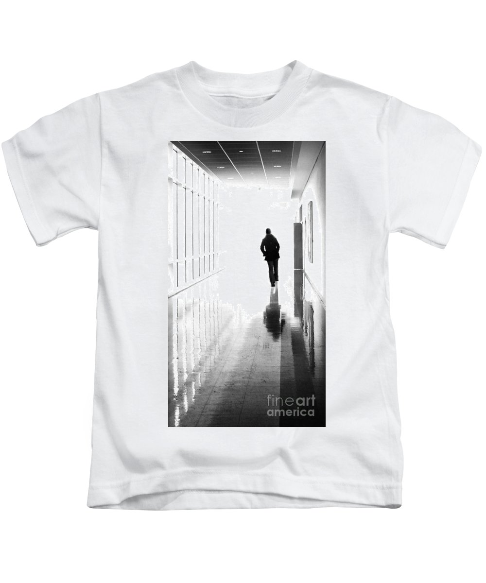 Dipasquale Kids T-Shirt featuring the photograph Being Alone Doesnt Mean Youre Free by Dana DiPasquale